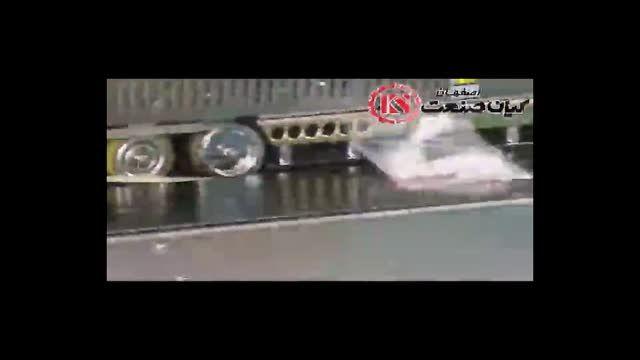 دستگاه دوخت ریلی اتوماتیک افقی محصول کیان صنعت اصفهان