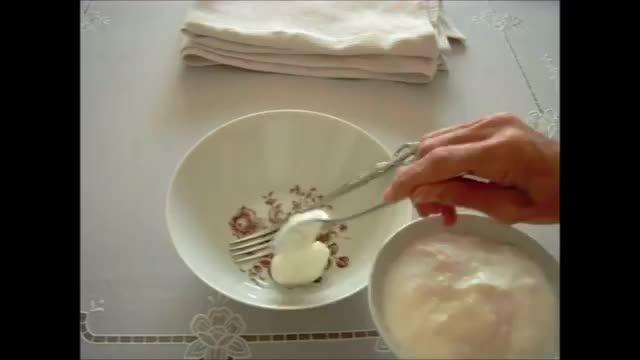 ماست خانگی Homemade Yogurt