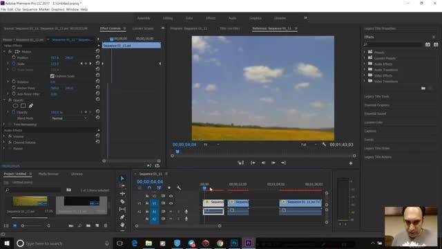 104- جانبخشی در Adobe premiere - آموزش پریمیر سعید طوفانی