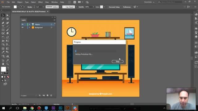 ارتباط پیشرفته فتوشاپ با Adobe illustrator - سعید طوفانی
