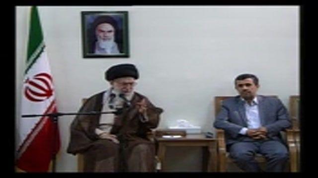 مهم - سخنان رهبر انقلاب در آخرین دیدار با هیءت دولت احمدی نژاد