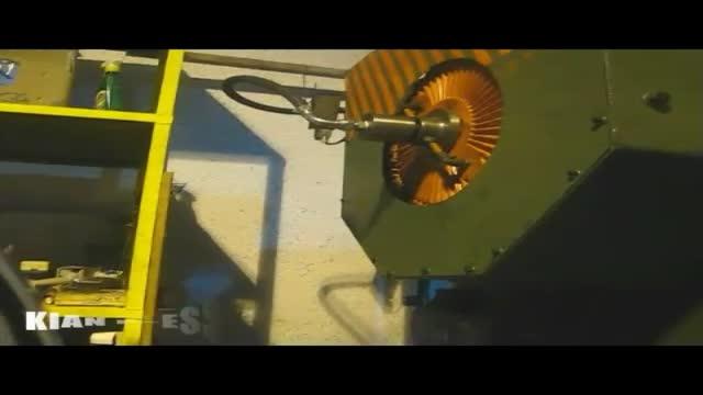 پرس ضربهای 80 تن و قالب مجموعه اگزوز ساخت کیان پرس