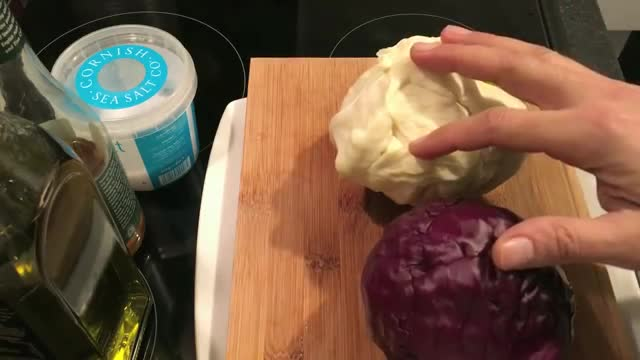 How To Make Cabbage Salad - آموزش درست کردن سالاد کلم