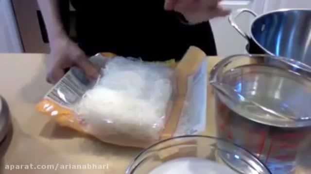 طرز تهیه فالوده شیرازی- چگونه در خانه فالوده درست کنید