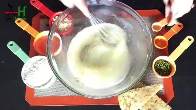 How to make almonds & pistachios cookies[طرز و تهیه کلچه بادامی و پستهی]