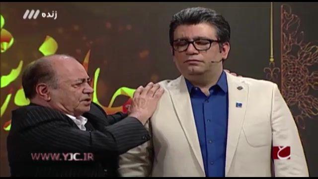 هیپنوتیزم شدن رضا رشیدپور توسط پدر هیپنوتیزم ایران در برنامه زنده حالا خورشید