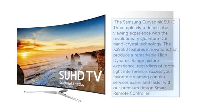 تلویزیون منحنی سامسونگ سه بعدی مدل KS9500