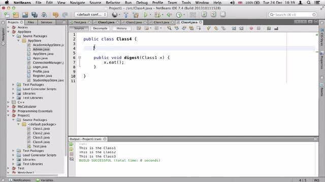 50- توضیح abstract در جاوا Java