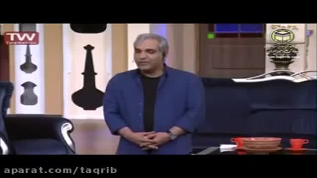 عذر خواهی مهران مدیری از برادران سنی در برنامه دورهمی