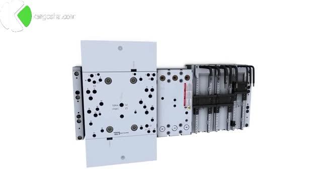 سیستم باسبار مدل 8US شرکت زیمنس