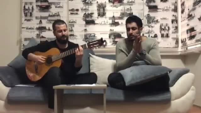 اجرا زنده فارسی و ترکی شهاب مظفری ( آی ) - ( shahab mozaffari live ( ay