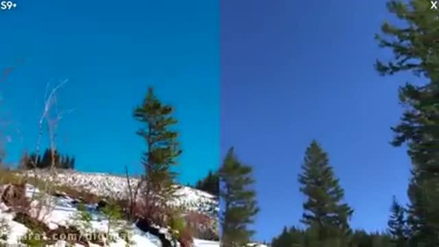 تست دوربین Samsung Galaxy S9 Plus vs iPhone X