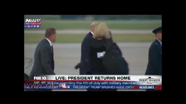 اختلال حواس رییس جمهوری آمریکا دونالد ترامپ