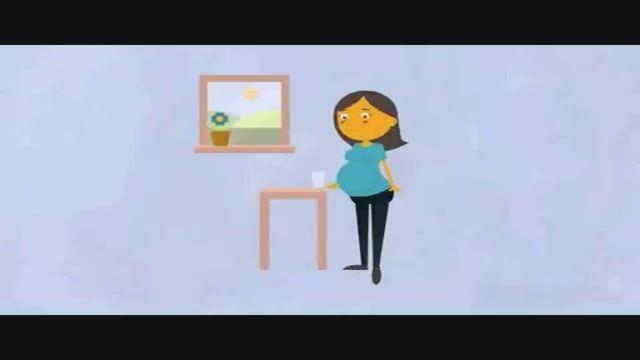 علت تکرر ادرار در دوران بارداری + زیرنویس