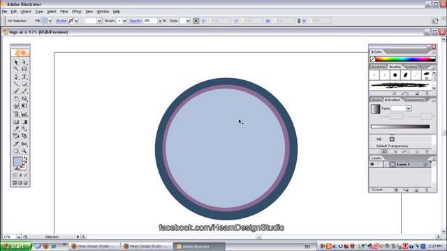 آموزش ویدیویی طراحی لوگو با برنامه Adobe Illustrator
