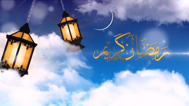پروژه نمایش لوگو افترافکت ویژه ماه مبارک رمضان به همراه