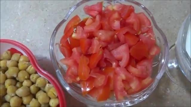 Chickpeas Salad طرز تهیه سلاته نخود