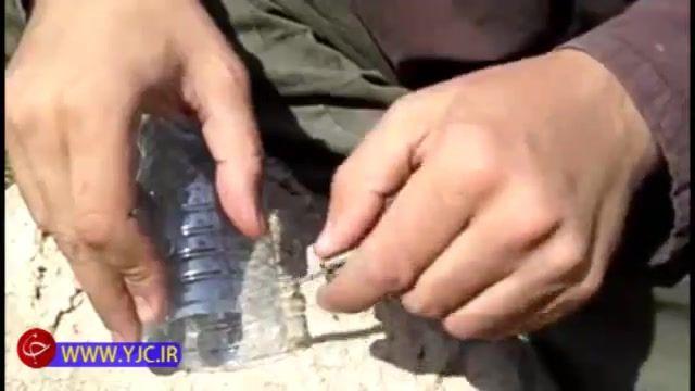 خلاقیت در ساخت طناب با بطری پلاستیکی