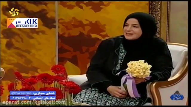 معاشرتی گرم و شاد با سیما تیرانداز در برنامه خوشا شیراز