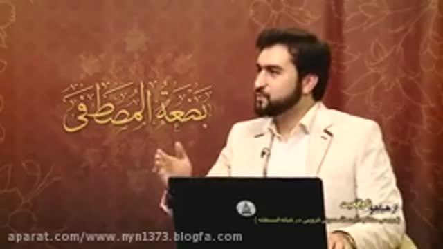 کلیپ مخفیانه و پشت صحنه از افشای تقطیع های وهابیون در مناظره آیت الله قزوینی با
