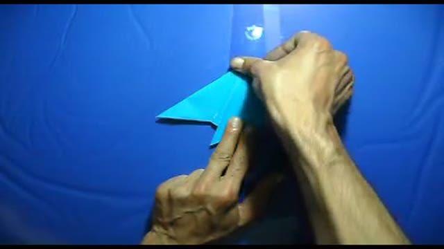 origami bird کاردستی - اوریگامی پرنده