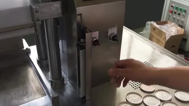 دستگاه پرس قرص هیدرولیکی(پرس پودر ارایشی و انواع پودر)