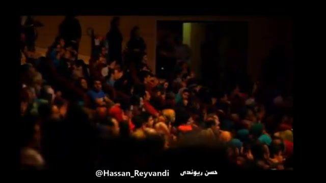 خنده دارترین اجرا و شوخی حسن ریوندی