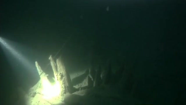 لاشه کشتی امپراطوری روم در نزدیکی سواحل کریمه توسط غواصان روس کشف شد !!!