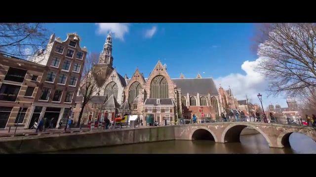 سفر به آمستردام هلند، شهری کارت پستالی