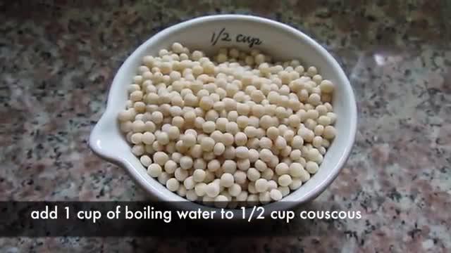 Couscous Salad  |  سالاد سبزیجات