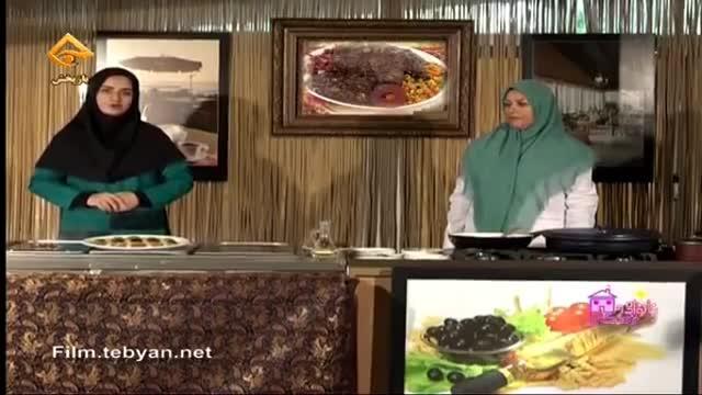طرز تهیه کشک و بادمجان سنتی به صورت مجلسی  (خانم شعبانی )