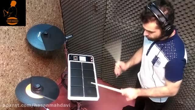 دارم نوازی با پرکاشن Spd30 آهنگ محمد اصفهانی دلقک