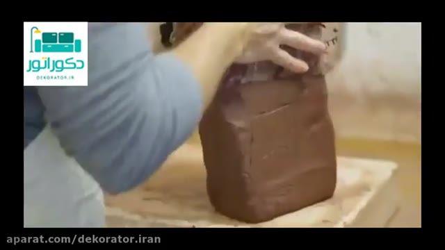 تولید کاشی های سنتی و استفاده از آن در دکوراسیون سنتی