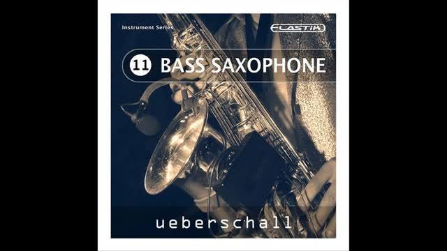 دانلود وی اس تی ساکسیفون بیس Ueberschall Bass Saxophone ELASTiK