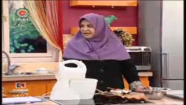 26 07 2012 شیرینی پفکی گردویی خانم جمشیدیان