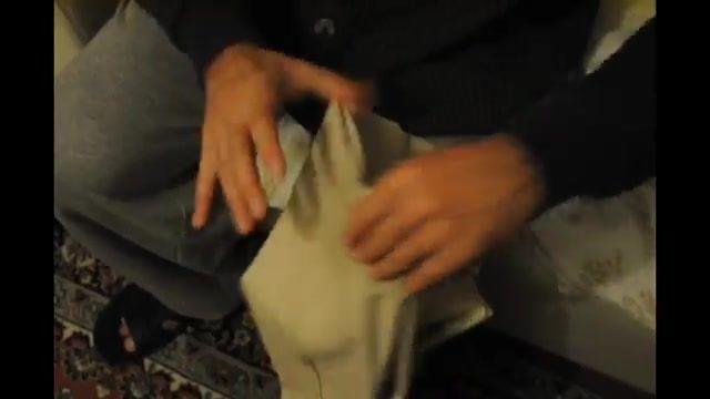 How To Short Hem Trousers - آموزش کوتاه کردن قد شلوار با نخ و سوزن
