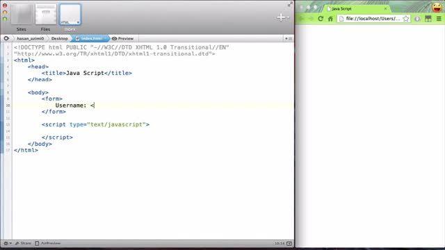 38- دسترسی به فرم ها در جاوااسکریپت (JavaScript)