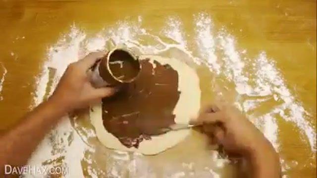 کلیپ آشپزی، شیرینی شکلاتی