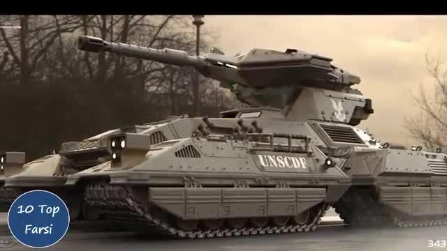 10 تا از برترین تانک های جهان| Top 10 farsi