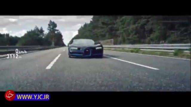 رکورد سرعت صفر تا 400 بوگاتی شیرون و کسب عنوان سریعترین خودرو
