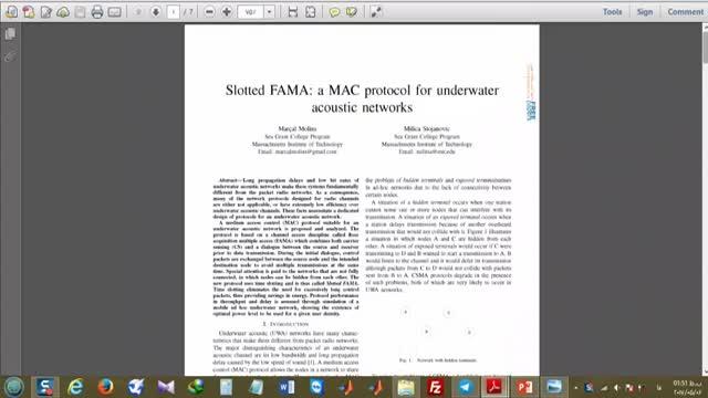 فیلم پروتکل MAC برای شبکه های حسگر