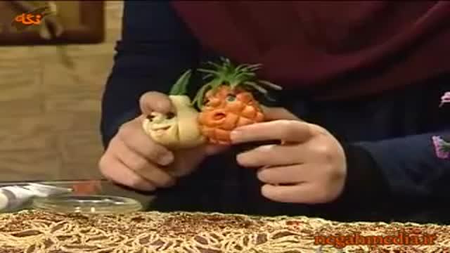 ساخت میوه های خمیری