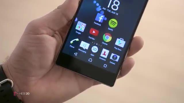 نگاه اولیه به گوشی Sony Xperia Z5 Premium