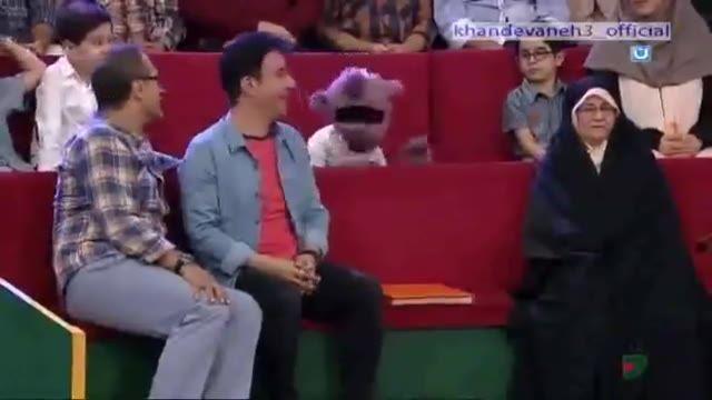 جناب خان و عمو پورنگ ترکیب اردک تک تک با ضرب و تیمپو