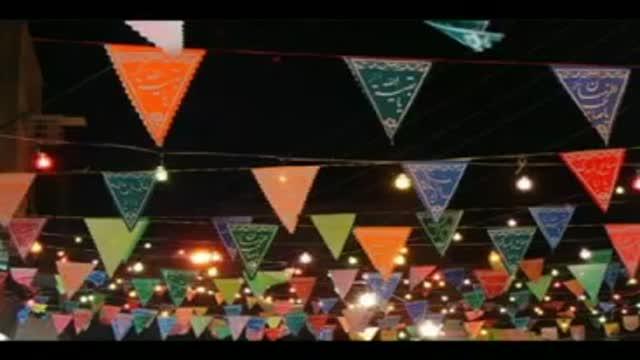 شعرخوانی بسیار زیبا(بازهم جشن نیمه شعبان)کربلایی مهدی امیدی مقدم-نیمه شعبان94