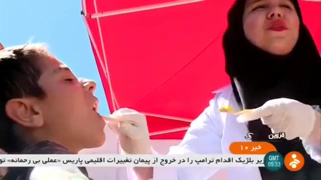 Iran Kouchar village, Qazvin province, Dentists help people دندانپزشکان در روستای کوچار قزوین ایران