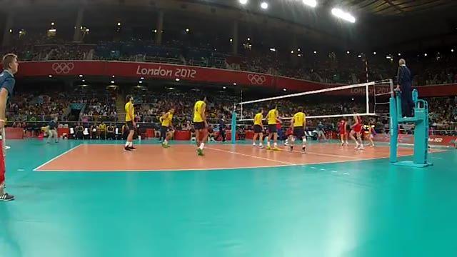 ویدیوی فنی - فینال المپیک 2012 (برزیل - روسیه) - اکشن 7