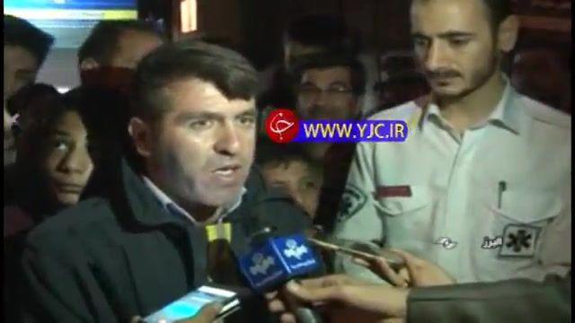انفجار کپسول گاز LPG در خانهای در مشکین دشت استان البرز