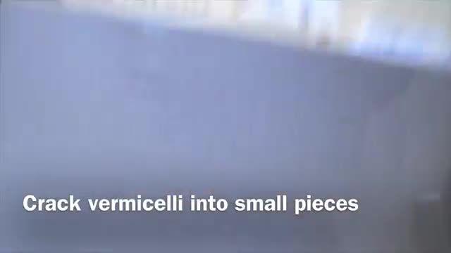 Vermicelli with Rice    رشته پلو مجلسی
