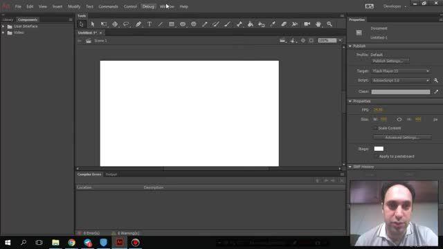 2- آشنایی - Adobe Animate - سعید طوفانی